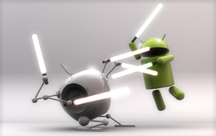 L'insopportabile leghismo degli utenti Android.